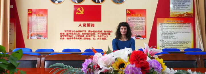 Intervention artistique à Pékin / Visiting artist in Beijing – April 2016